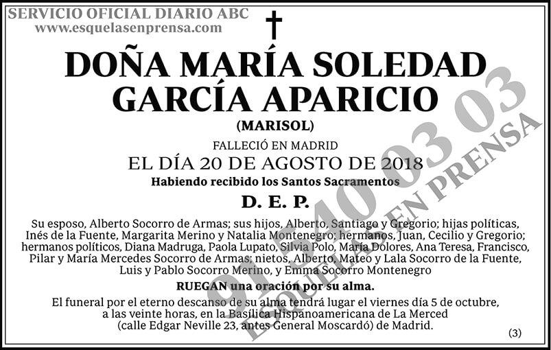 María Soledad García Aparicio
